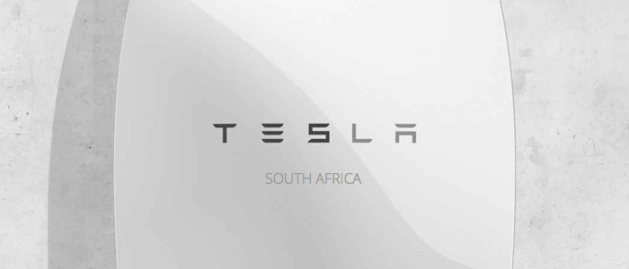 Tesla battery South Africa