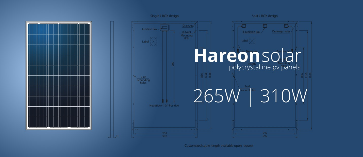 Hareon Solar PV panels south africa
