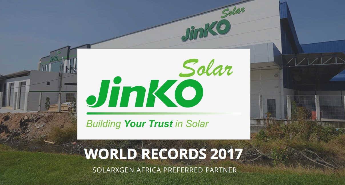 Jinko Solar panels South Africa