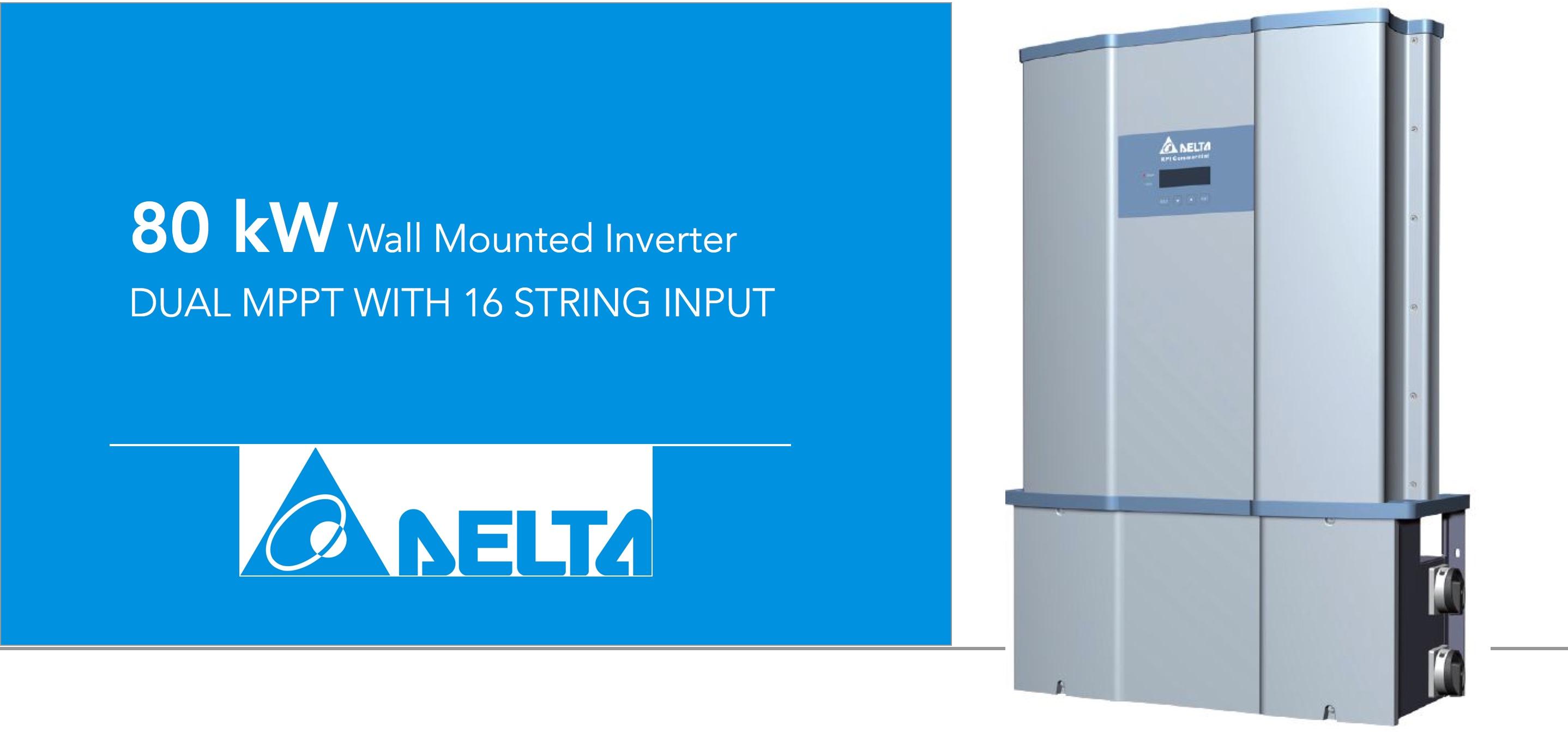 Delta RPI 80kW Inverter South Africa