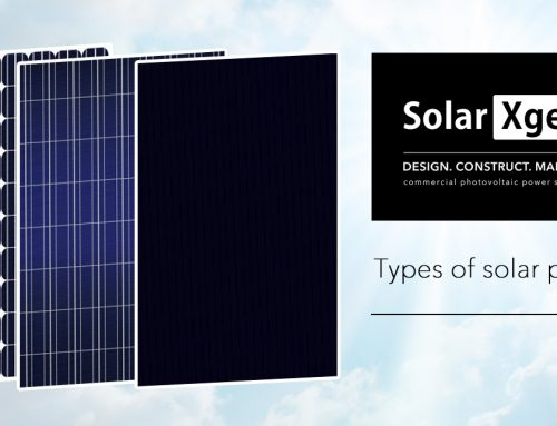 Which type of solar panel does SolarXgen use?